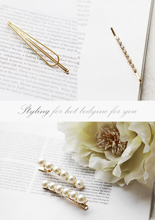 핫키스gold elegant hairpin set