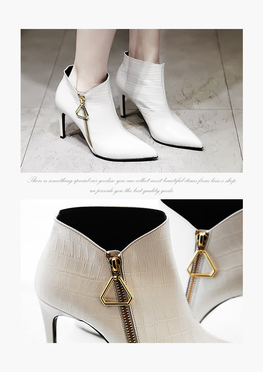 핫키스triangle boots heel